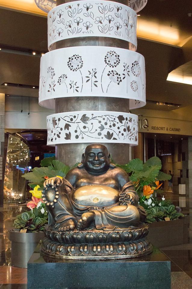 Budha at the Aria Hotel