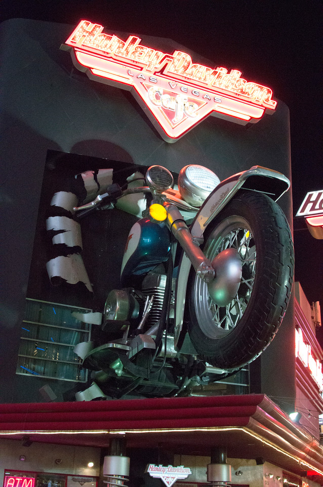 Harley Davidson on Strip