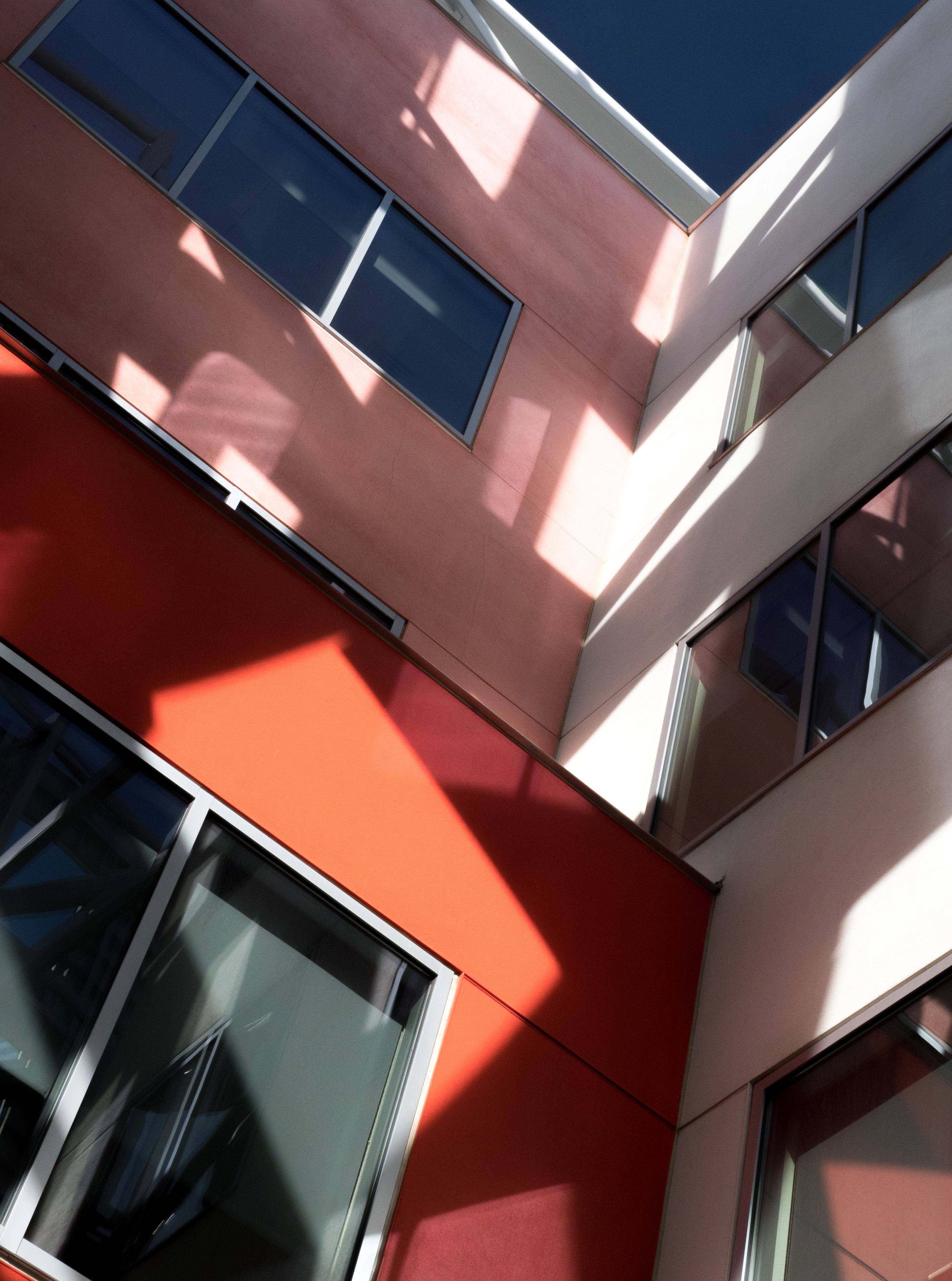 Cleveland Clinic Courtyard. I