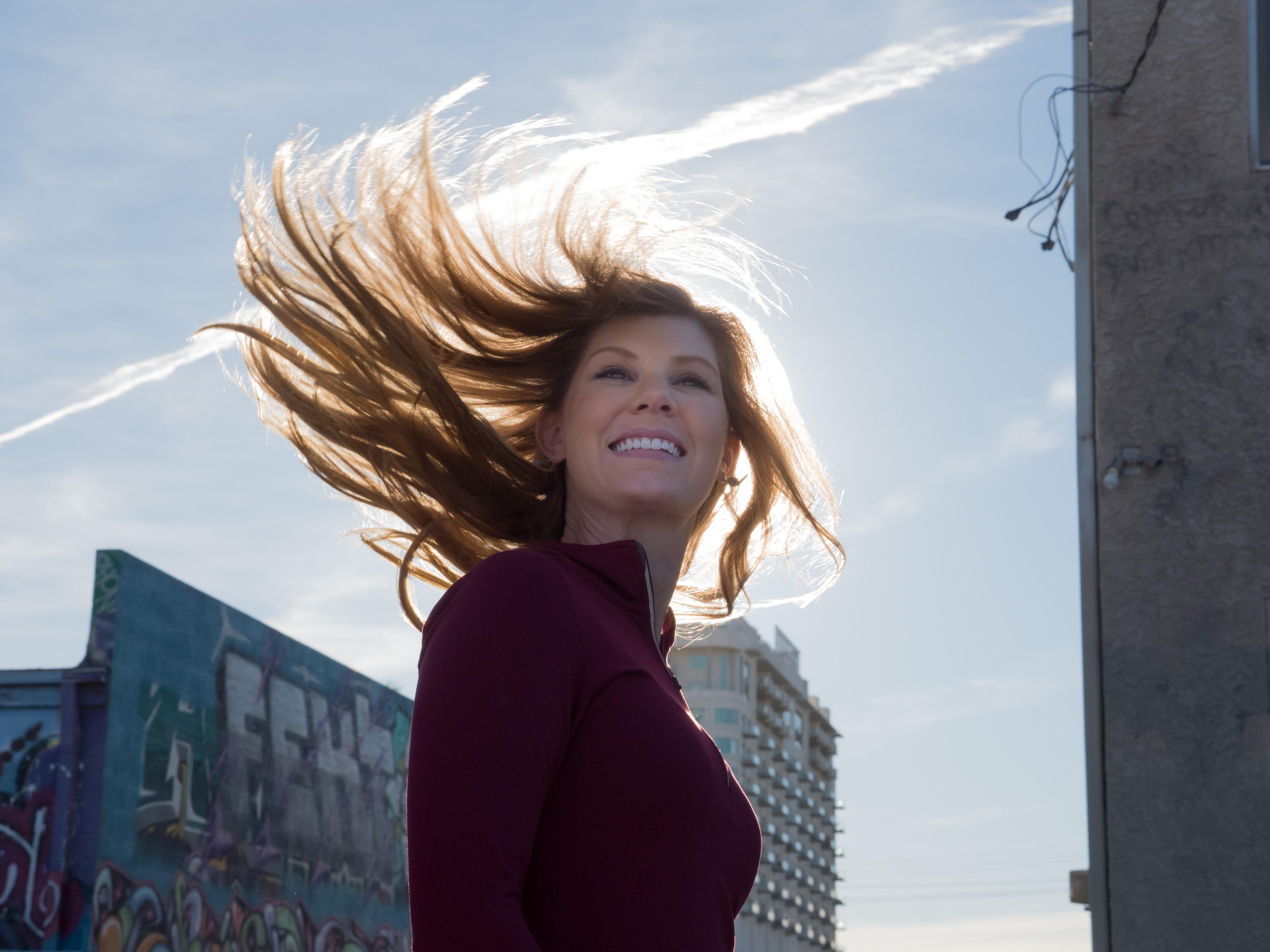 Hair flip!