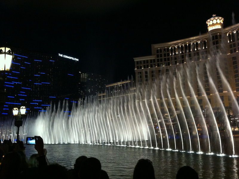 Bellagio water show.