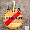 Beerhaus sign