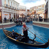 Gondola ride at  Venetian Hotel in Las Vegas, Nevada.