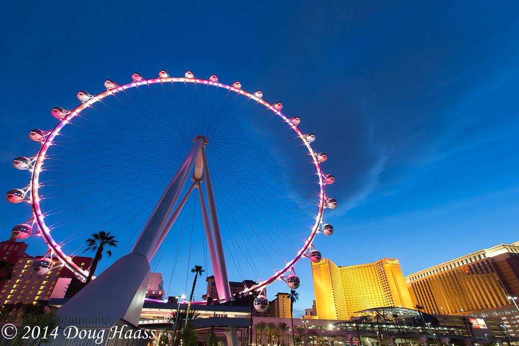 High Roller over Las Vegas