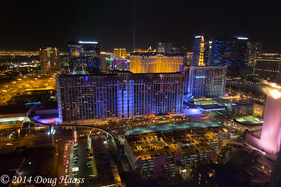 High Roller over Las Vegas