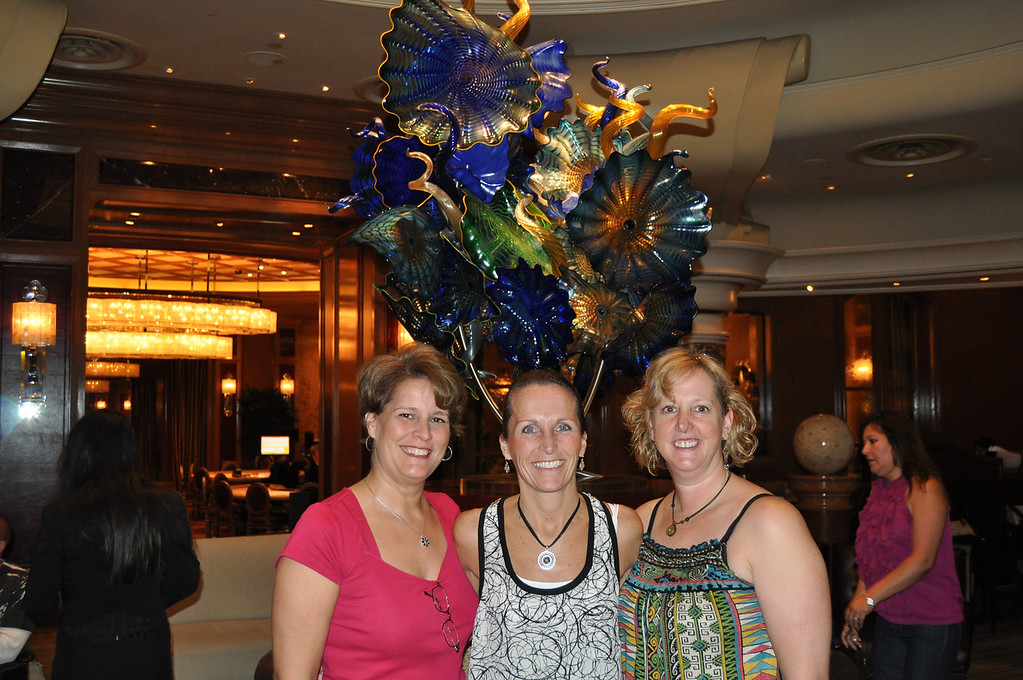 PIcture of us with the sculpture of glass, picture taken by a man who knew alot about it and mentioned the artists name but I have forgotten it.....