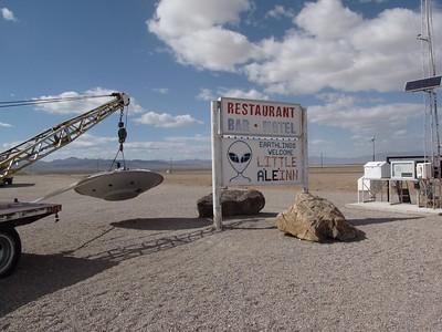 Las Vegas, Rachel, and Nellis Range (Groom Lake / Area 51)
