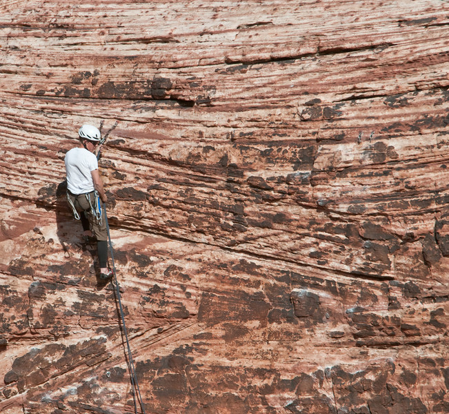 Red Rock Canyon - Rock Climbers