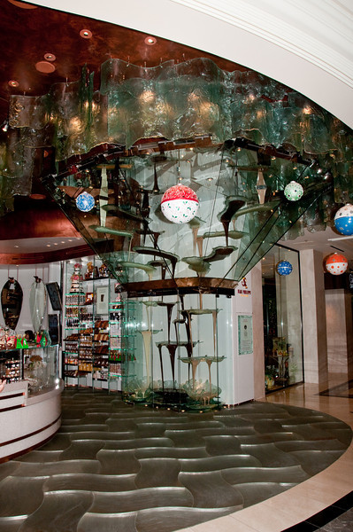 Jean-Philippe Chocolates and Pastries at Bellagio - Worlds largest chocolate fountain