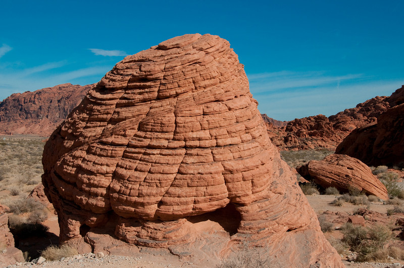 Valley of Fire Nevada State Park - Beehives rock structure
