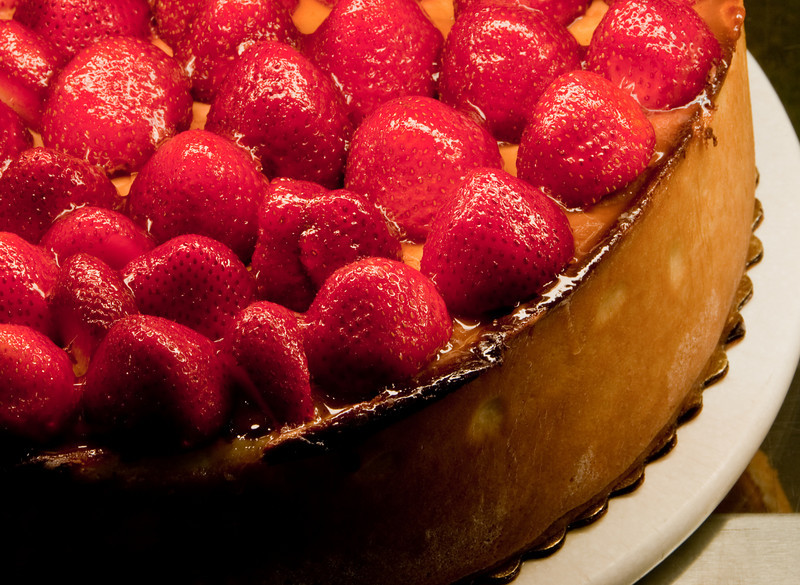Carnegie Delicatessen at the Mirage Casino - Strawberry Cheese Cake