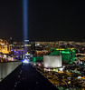 Looking towards downtown from the 64th floor of Mix Lounge at TheHotel on the Mandalay Bay Hotel and Casino property.