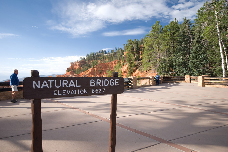 Morning at the Bryce Canyon Natural Bridge