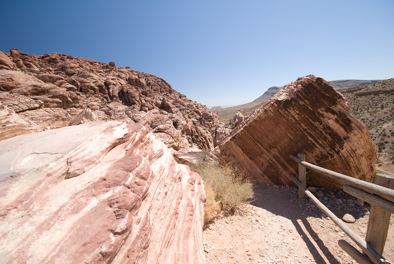 Red Rock Canyon which is just outside Las Vegas