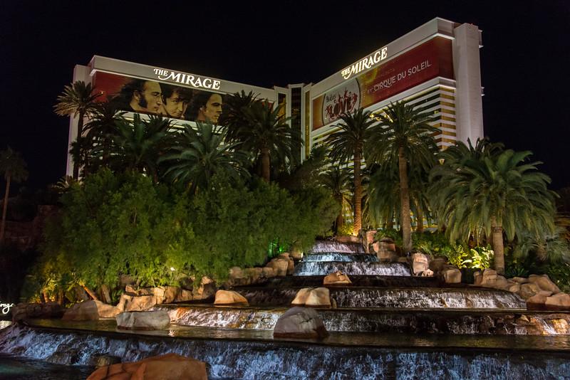 The Mirage in Las Vegas, November 2014