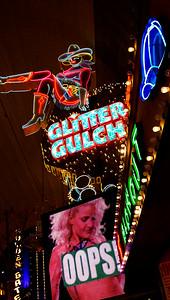 SA$$Y SALLY Sits High on Glitter Gulch! Freemont Street  Las Vegas Jan 09-13