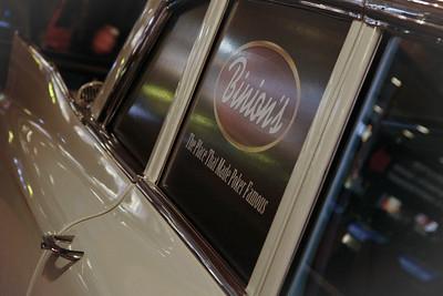 Classic Car In A Classic Gambling Casino-Binions Las Vegas Jan 09-292
