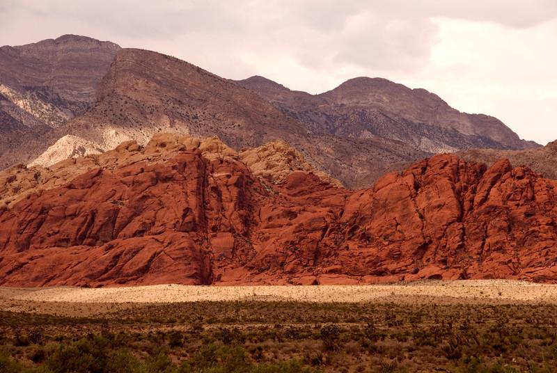Red Rock Canyon just west of Las Vegas 09/01/07 Nevada Desert SW of Las Vegas