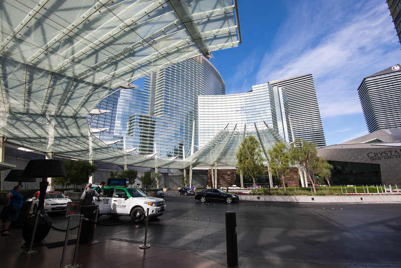 Aria Resort & Casino, Las Vegas, November 2014