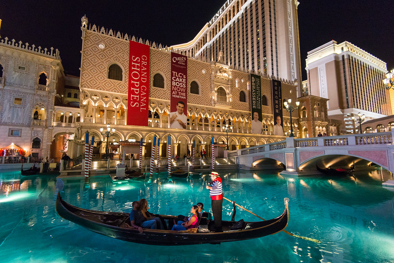 The Venetian in Las Vegas, November 2014