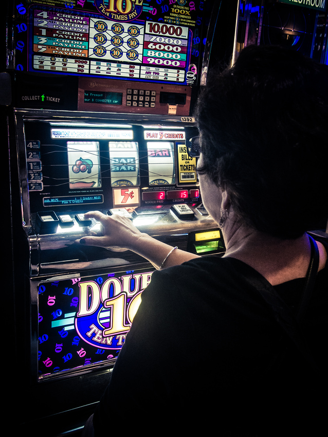 Las Vegas slot machines - one of the many things to do in Las Vegas.