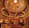 Lobby of the Venetian Hotel.