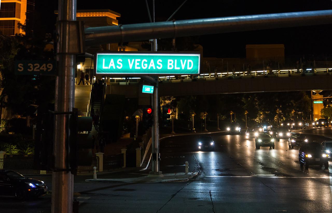On the Strip in Las Vegas, NV - November 2014