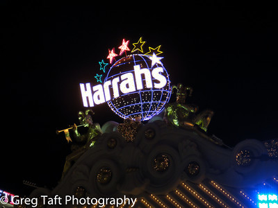 Harrah's Casino - Night