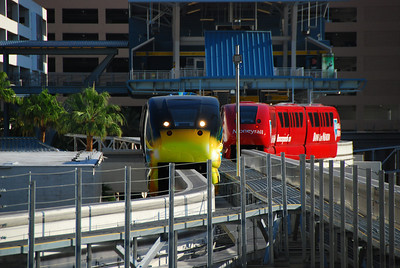 Monorail at Flamingo Station