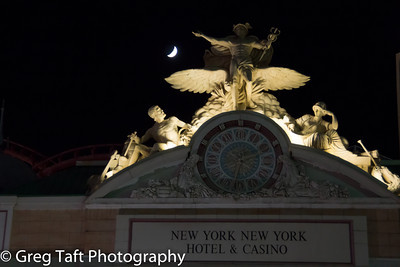 New York, New York Casino and Crescent Moon