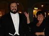 Oma mit Pavarotti aus Wachs