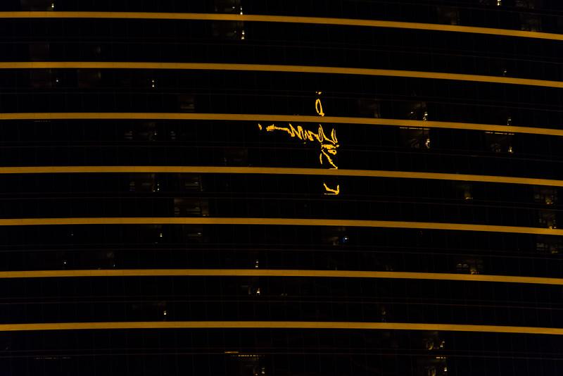 Reflection on The Encore in Las Vegas, November 2014