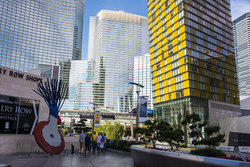 Aria Resort & Casino with Veer Towers, Las Vegas, November 2014