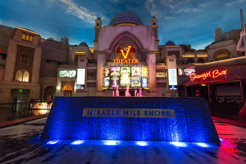 V Theater box office in Planet Hollywood,  Las Vegas, NV - November 2014