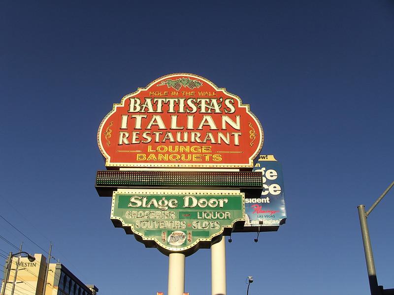 Battista's Sign