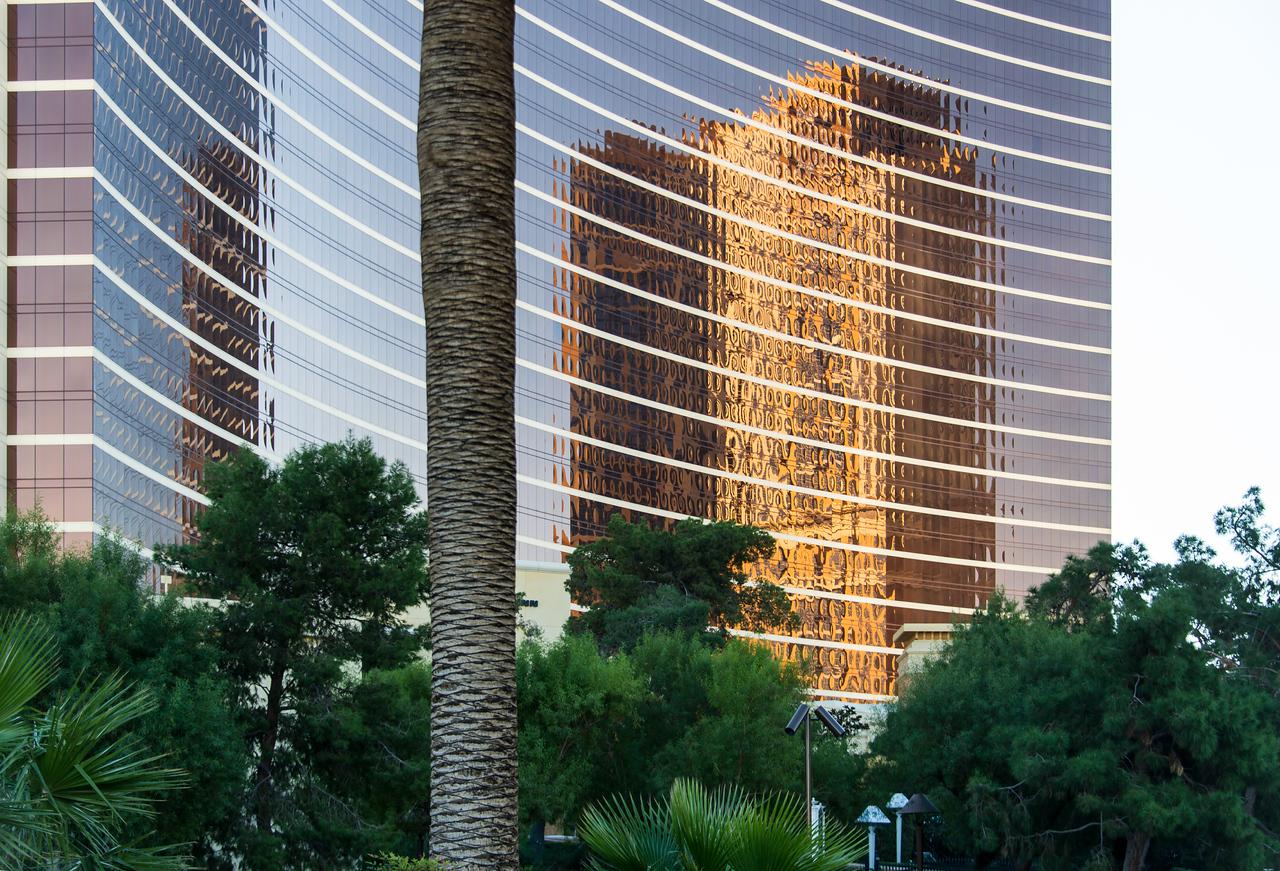 Reflection on The Wynn, Las Vegas, NV - November 2014