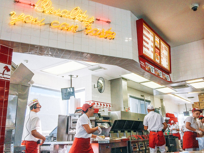 In-N-Out Burger Las Vegas. There are 29 In-N-Out Burger Secret Menu items. Have a look at the complete list at the best burger joint in the United States.