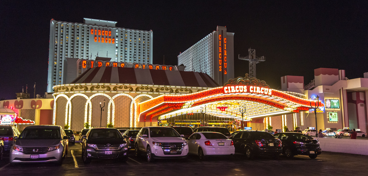 My place of lodging on the Strip, Las Vegas, NV - November 2014