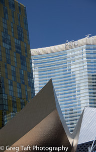 Architecture near City Center - Las Vegas Blvd.
