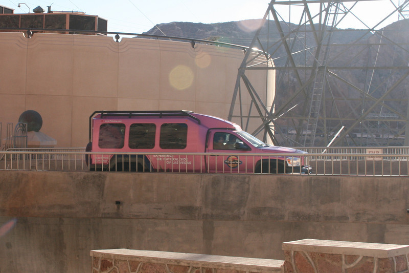 If you don't want to drive yourself - you can take a Pink Jeep tour.