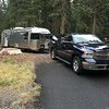 Lassen NP campsite