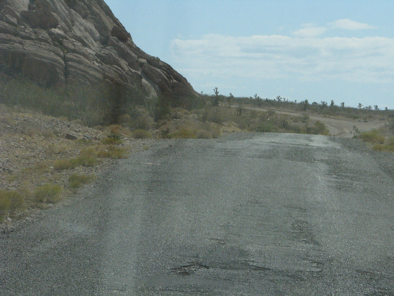 Approaching Nays Ranch Road.