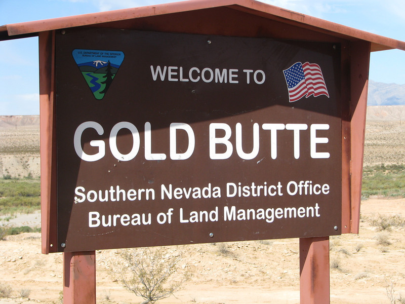 We have officially made it to Gold Butte boundary.