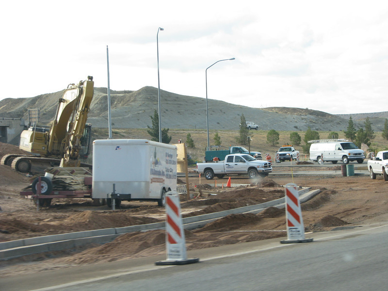 As with most road construction, its long over due, this interchange has been in need of widing for a very long time.