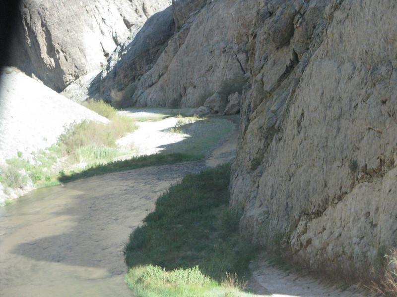 Virgin River below.