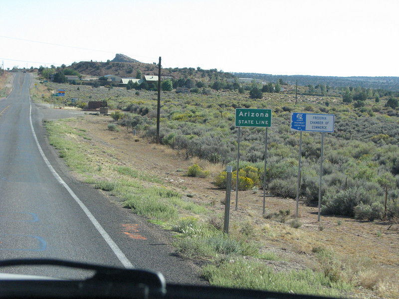 Returning to Arizona after hunting down a hardware store for a small wire bush.