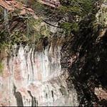 Middle pool waterfalls
