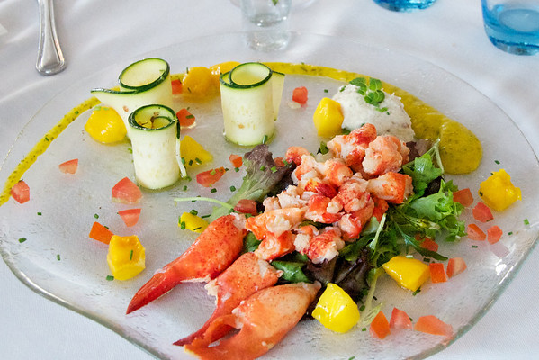 My delicious lobster salad