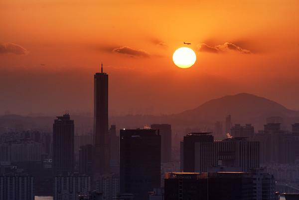 Last Sunset of 2017