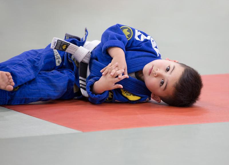 Noah at Brazilian Jiu Jitsu practice in San Diego.